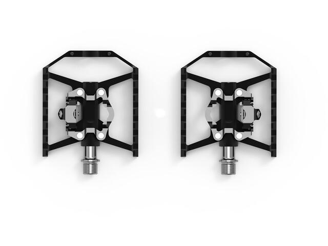 Cube ACID Combo A4-IB Hybrid Pédales, black